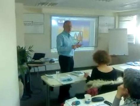 הרצאה של מר אבי בן חורין בנושא ביטוח ימי במסגרת השתלמות אינקוטרמס 2010