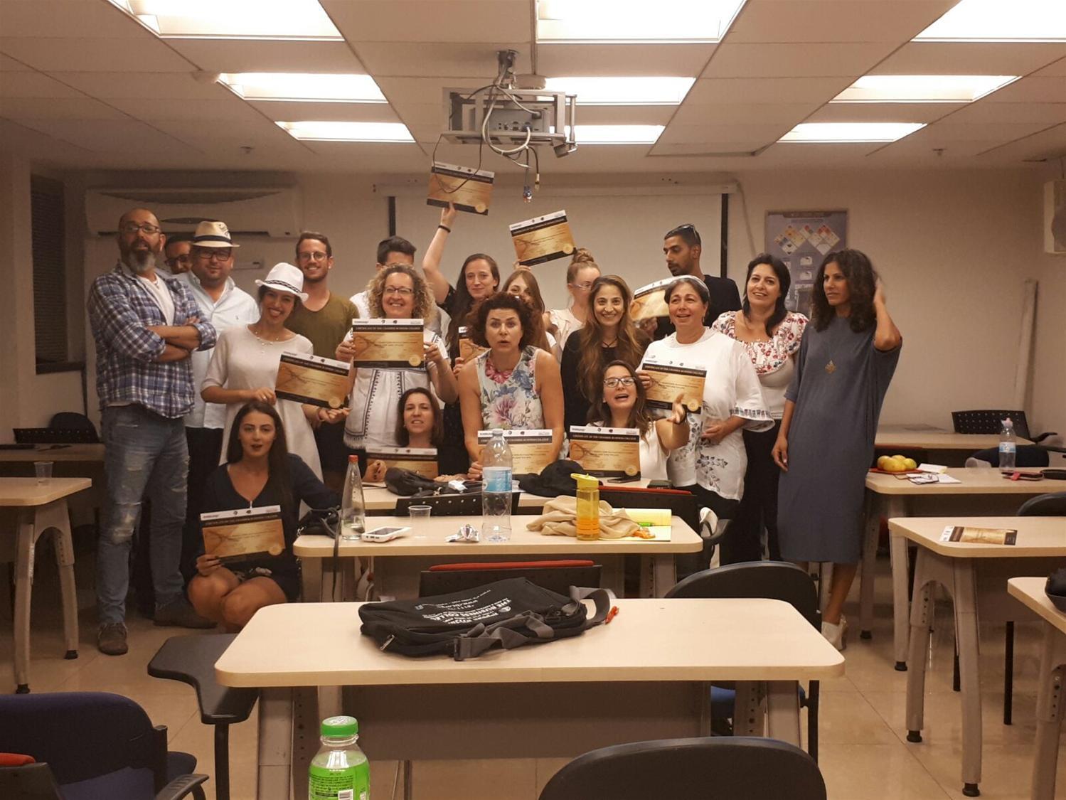סיום קורס ניהול, עיצוב והפקת אירועים מחזור 16