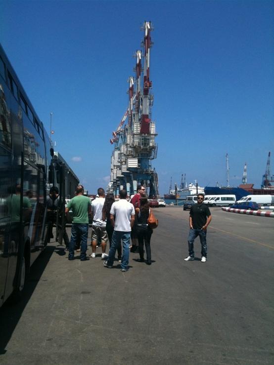 גלרייה - המכללה העסקית קיימה סיור בנמל אשדוד לתלמידי קורסי סחר בינלאומי, 4 מתוך 7