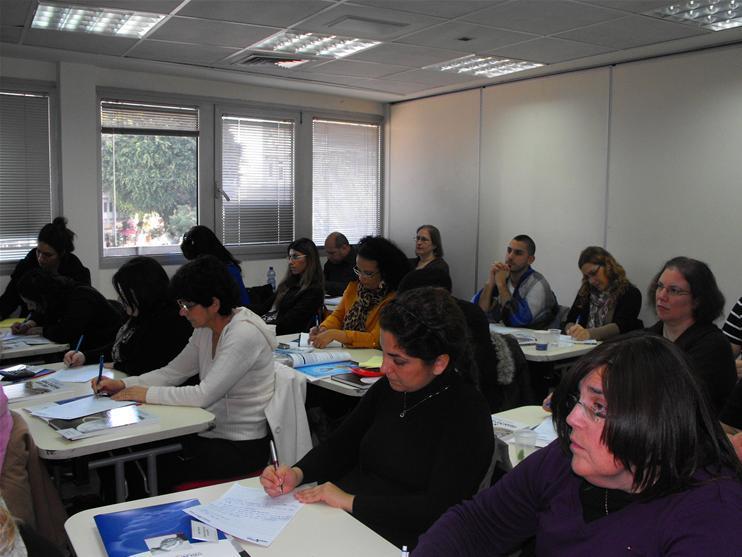 גלרייה - המכללה העסקית קיימה סדנה בנושא רענון לפקידות יבוא/יצוא, 2 מתוך 4