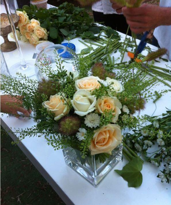 גלרייה - קורס הפקת אירועים מחזור 6 בסדנת שזירת פרחים, 11 מתוך 14