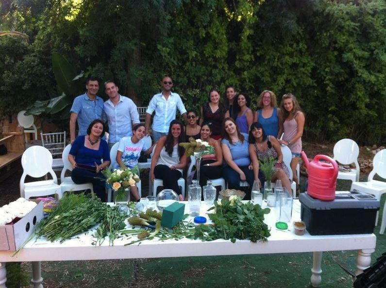 גלרייה - קורס הפקת אירועים מחזור 6 בסדנת שזירת פרחים, 13 מתוך 14