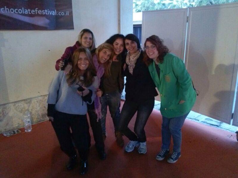 גלרייה - תלמידי קורס הפקת אירועים בפסטיבל השוקולד 13-15.2.14, 2 מתוך 13