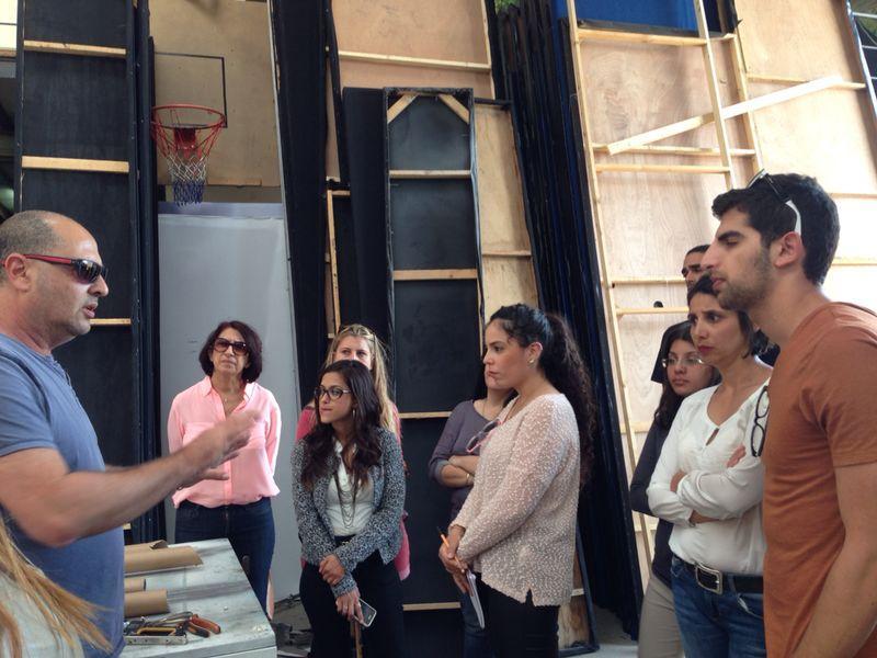 גלרייה - סיור ספקים - קורס הפקת אירועים מחזור 7, 12 מתוך 21