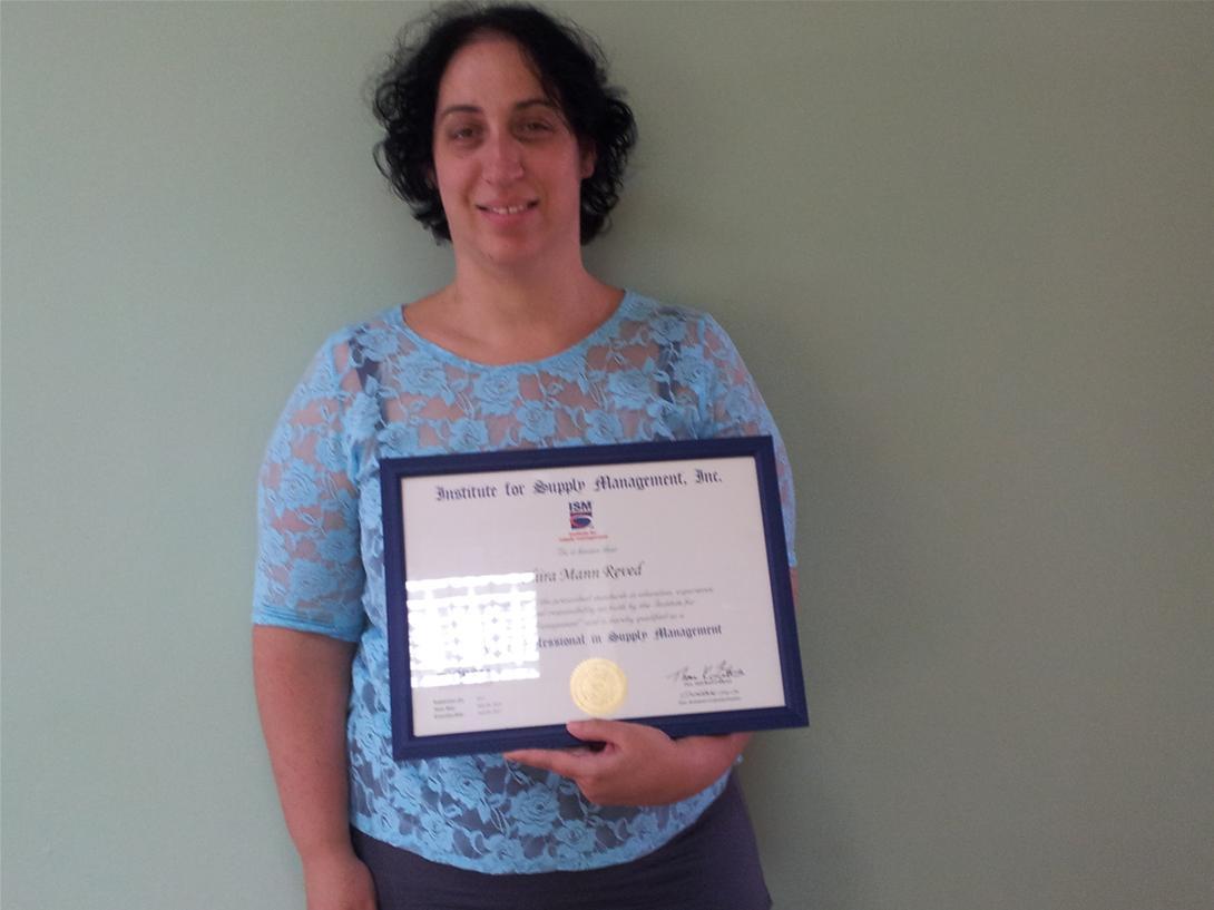 גלרייה - הבוגרת הראשונה בישראל עם תעודת הסמכה CPSM, 2 מתוך 2
