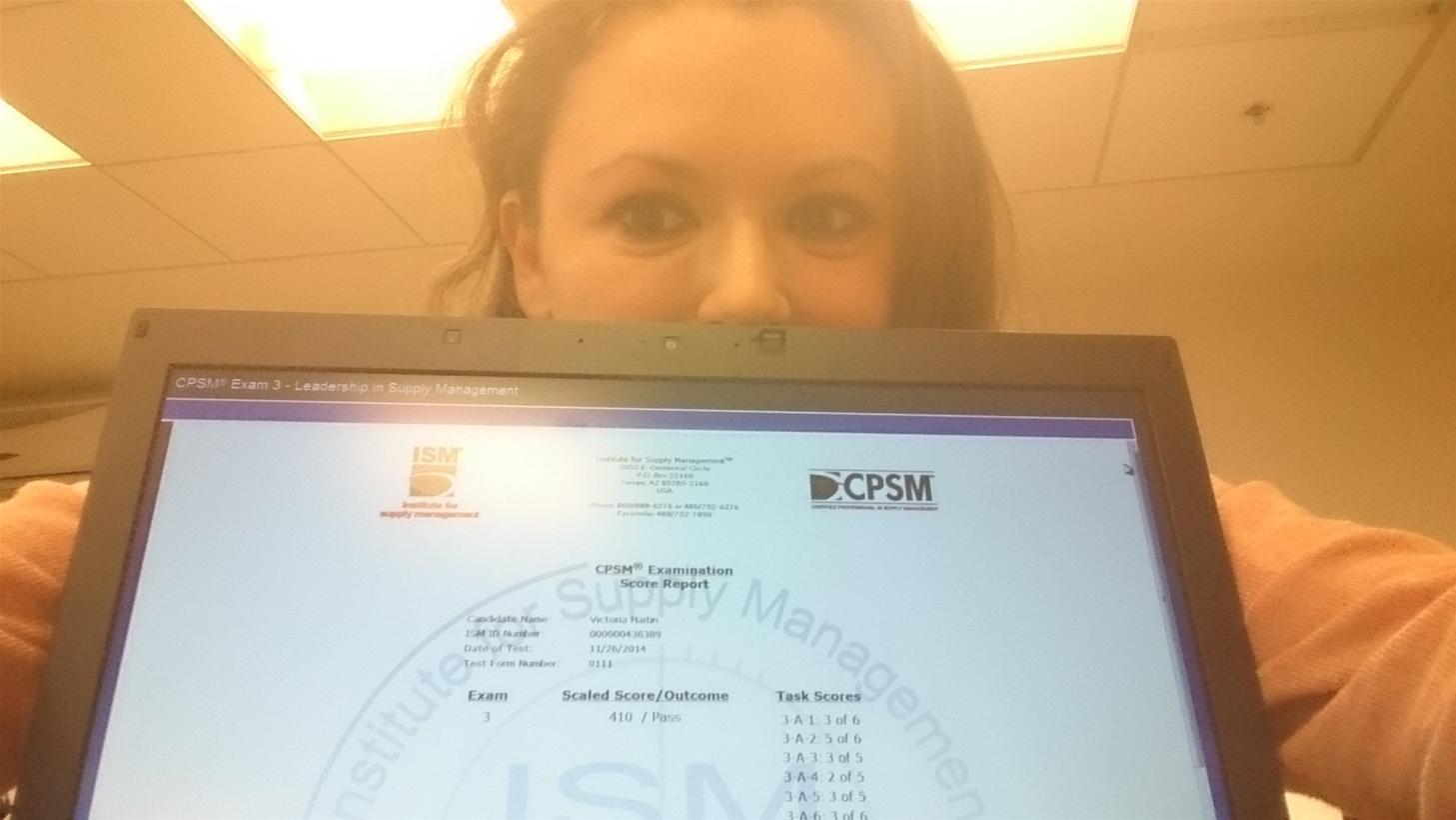 גלרייה - ויקי חייטין שעברה את המבחן השלישי בהסמכה הבינלאומית של CPSM, 1 מתוך 1