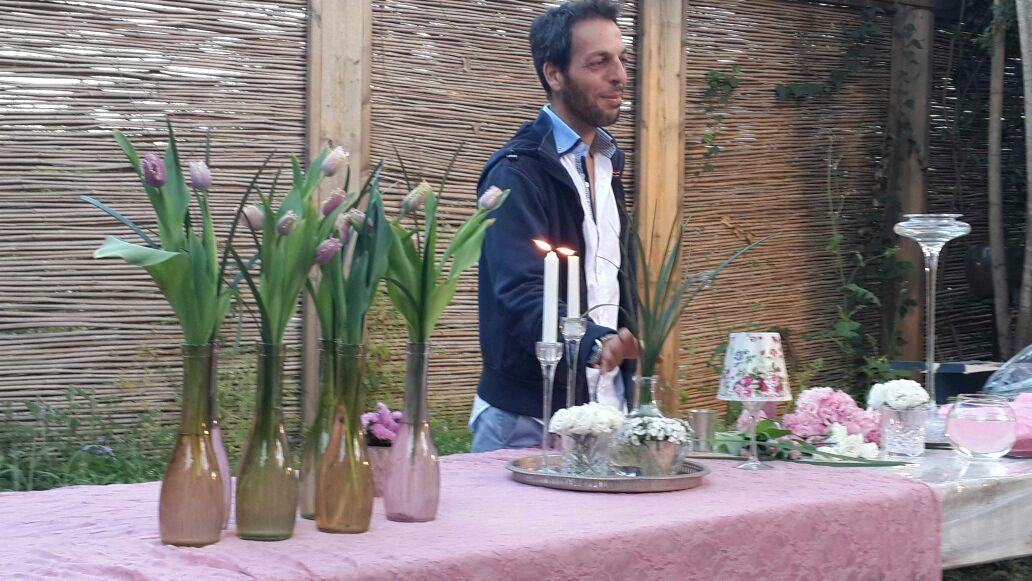 גלרייה - שיעור עיצוב ושזירת פרחים קורס הפקת אירועים מחזור 10, 1 מתוך 9