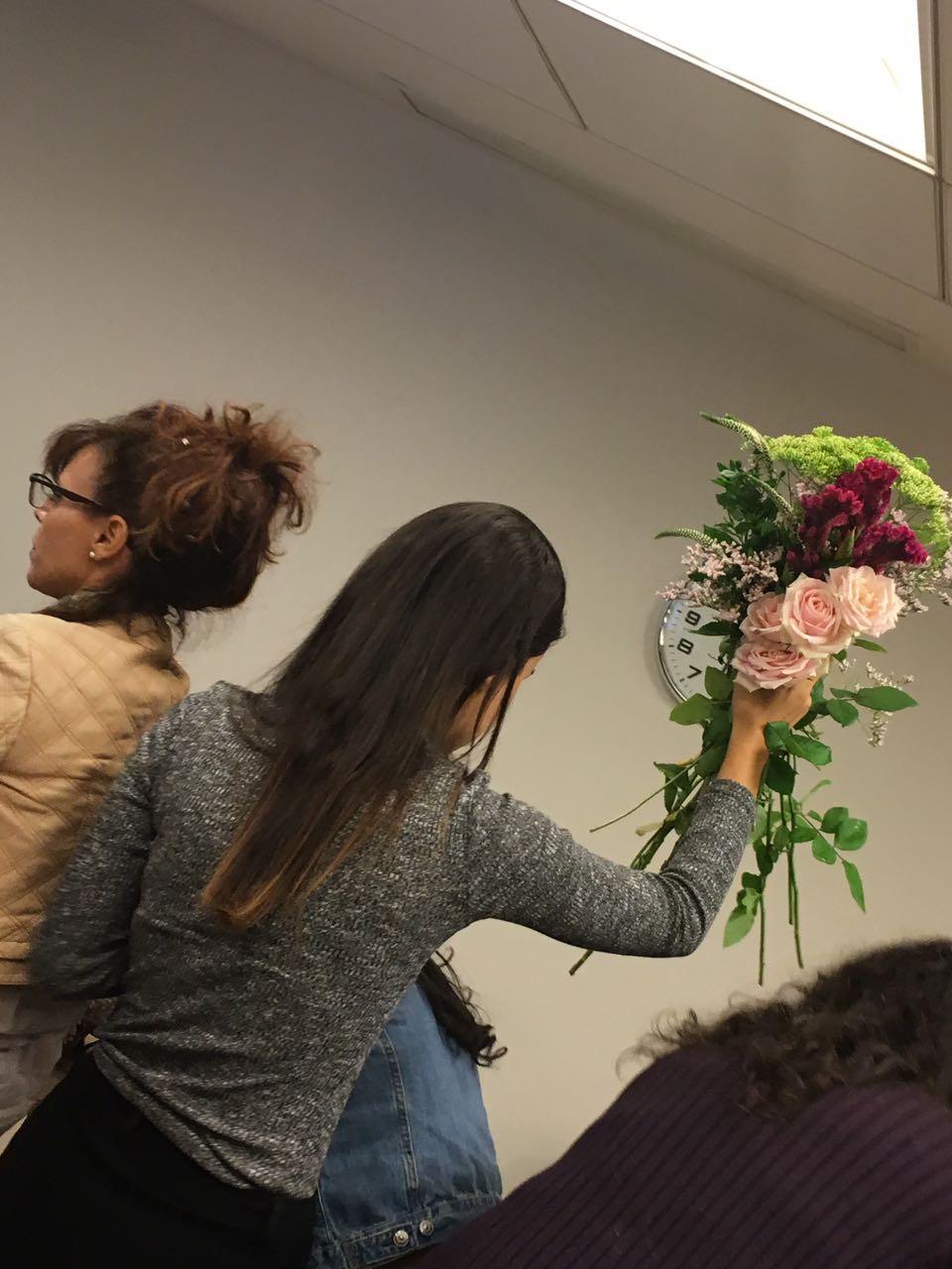 גלרייה - שזירת פרחים - קורס עיצוב ניהול והפקת אירועים מחזור 15, 4 מתוך 22