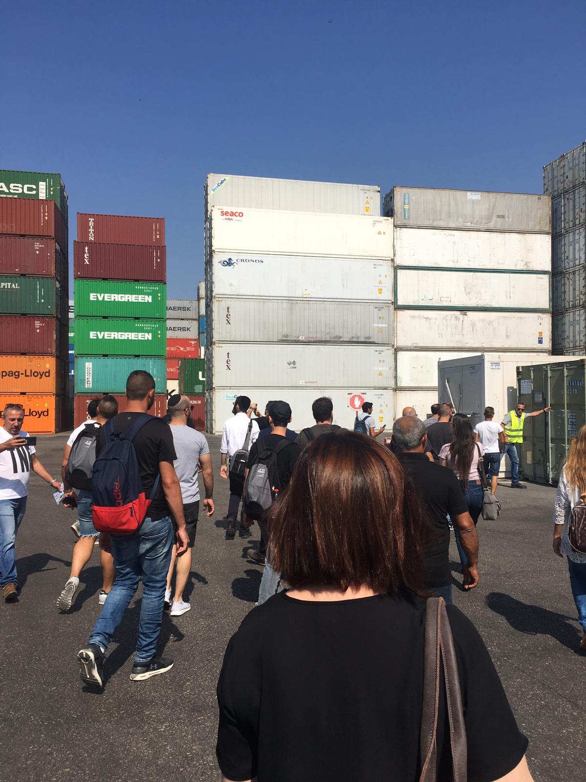 גלרייה - סיור לנמל אשדוד ספטמבר 2019, 13 מתוך 29