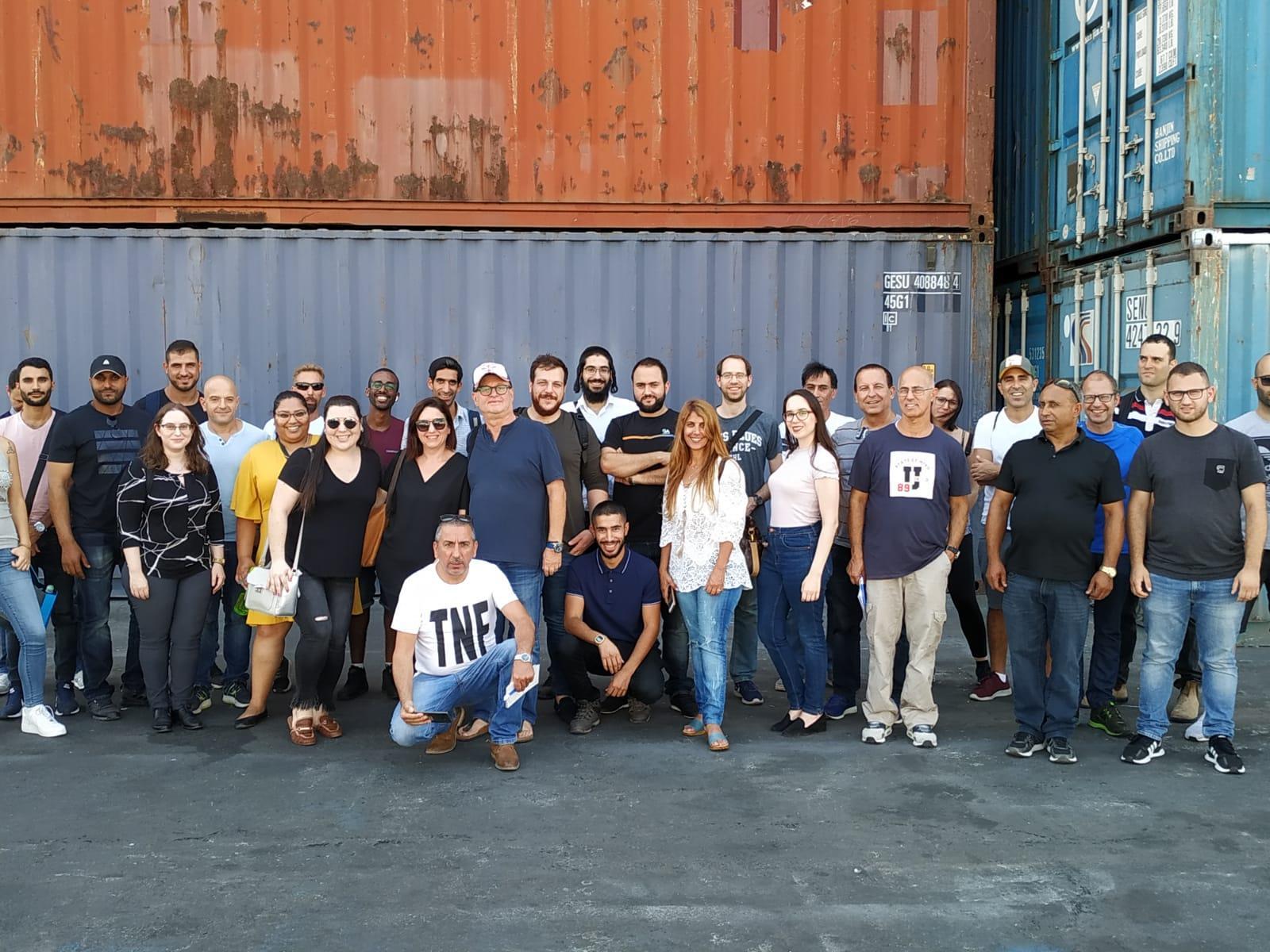 גלרייה - סיור לנמל אשדוד ספטמבר 2019, 27 מתוך 29